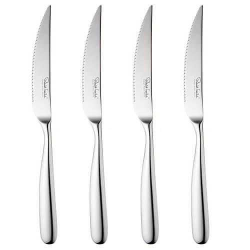 Robert Welch Stanton Bright Steak Knives, Set of 4