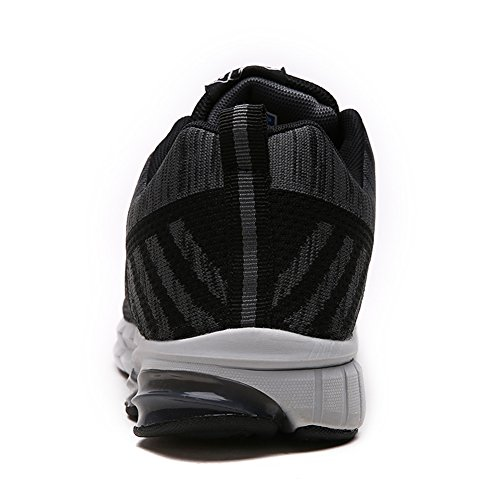Fexkean Running Laufschuhe Sneakers Atmungsaktiv Schwarz Gym Turnschuhe Herren Sportschuhe Freizeit r46WfxBrwq