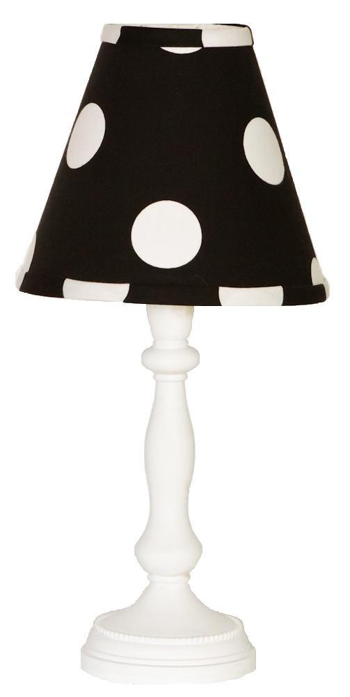 Cotton Tale Designs Hottsie Dottsie Lamp and Shade