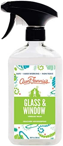 Glass Cleaner: Aunt Fannie's