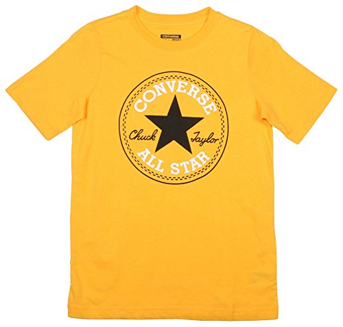 Converse Big Boys' (8-20) Chuck Taylor Core Patch T-Shirt-Yellow-Large