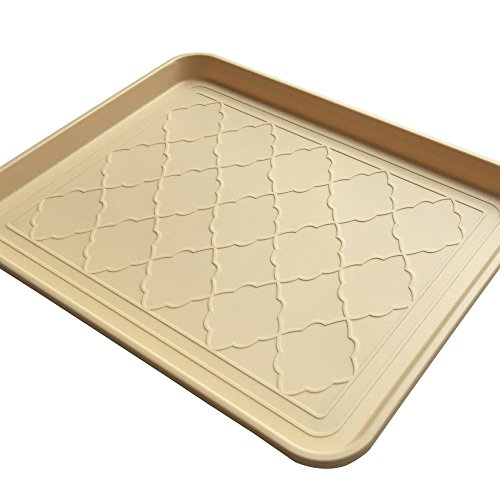 Premium Pet Food Tray - Large Dog And Cat Food Mat With Non Skid Design - Best For Containing Spills and as Pet Feeding Mat