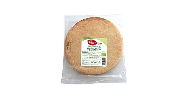 El Granero Integral - Base de pizza de espelta y quinoa - 4255-300gr-ElGraneroIntegral: Amazon.es: Salud y cuidado personal