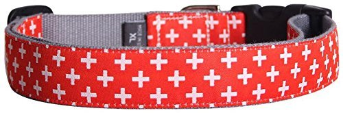 Molly Mutt Great Expectations bambú perro collar, mediano