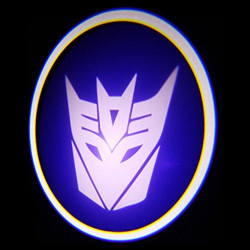 Ghost Shadow Laser Projector Logo Cree LED Step Door Courtesy Light Bulbs - Decepticon