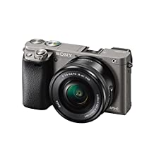 Sony ILCE6000L/H A6000 Mirrorless Camera with 16-50mm Lens SLR, Black, Compact