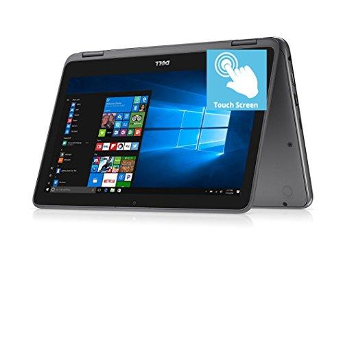 2018 Flagship Dell Inspiron 11.6″ HD Touchscreen 2 in 1 Business Laptop/Tablet, AMD Core A9-9420e 2.6GHz 8GB DDR4 128GB SSD AMD Radeon R5 MaxxAudio Bluetooth 802.11bgn HDMI Webcam USB 3.1 Win 10 -Gray