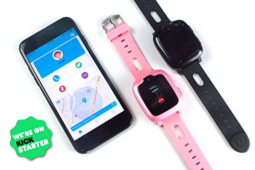 Smart Watch Phone for Kids - Ultimate 3G Smartwatch with GPS Tracker, Touchscreen, Camera, Touch SOS Remote Alarm, Fitness Trackers, Waterproof Cell Phone Watches for Girls Boys by myFirst Fone-Black by Oaxis (Image #5)