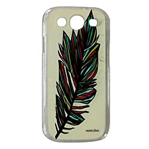 TOPAA Leaves Pattern Plastic Hard Case for Samsung Galaxy S3 I9300