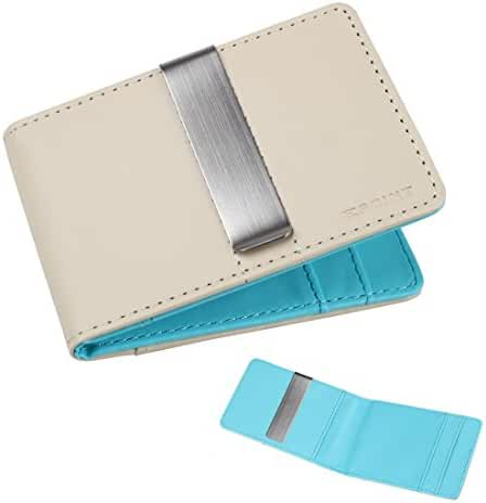 ECM08 Series Brand Mens Leather Wallet Money Clip and 4 Card Holders By Epoint
