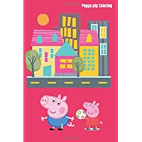 Peppa pig Coloring: Mini peppa pic coloring book,activity for kids,peppa pig cover,58 pages