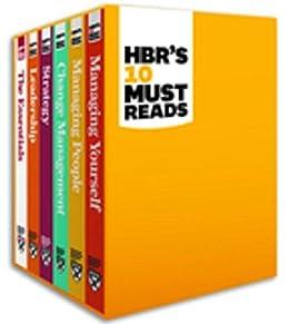 HBR's 10 Must Reads Boxed Set (6 Books) (HBR's 10 Must Reads) by [Harvard Business Review, Review, Harvard Business, Drucker, Peter F., Christensen, Clayton M., Goleman, Daniel, Porter, Michael E.]