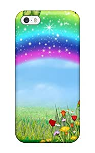 Fashion UVRHsPy5329ZFvaK Case Cover For Iphone 5/5s(rainbow Cartoon ) by icecream design