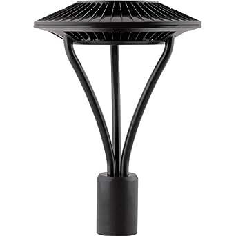 RAB ALED5T78 - 78 Watt - LED - Post Top Light Fixture - 5100K Stark White - 120/208/240/277 Volt - Bronze Finish