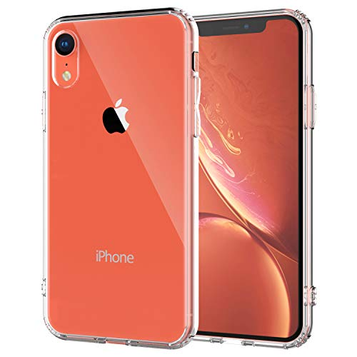 Shamos Clear Phone XR Case, Shock Absorption with TPU Bumper and Anti-Scratch Transparent Back for Apple iPhone XR (Clear)