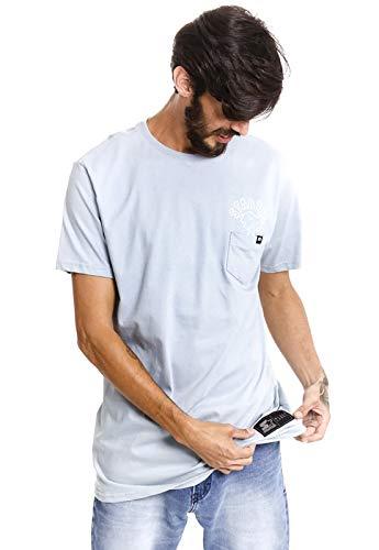 Camiseta Starter Estampada Pock Eruption Azul