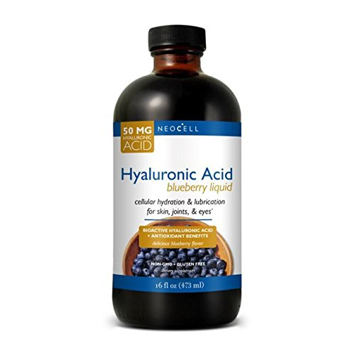 Neocell Labs (Neocell Hyaluronic Acid, Blueberry Liquid, 16 Fluid Ounce)