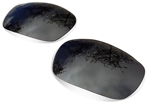 Sunglasses Restorer Polarized Titanium Replacement Lenses for Oakley - Breadbox Sunglasses