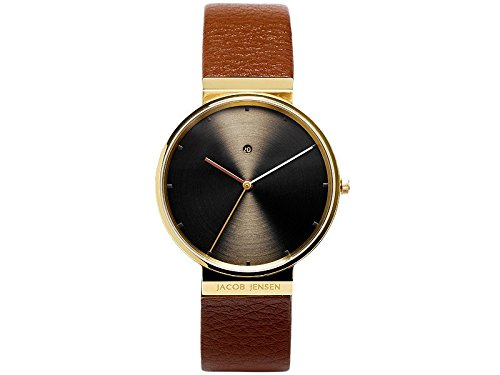 Jacob Jensen 844 Mens Dimension Brown Watch