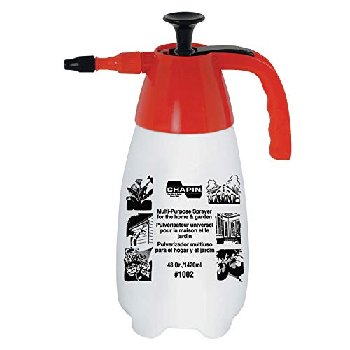 Chapin 1002 48-Ounce Hand Sprayer for Multi-Purpose Use, 48-Ounce (1 Sprayer/Package) (Best All Purpose Weed Killer)