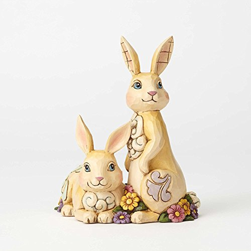 Jim Shore HWC by Enesco 2 Bunnies with - Shore Bunny Jim Easter