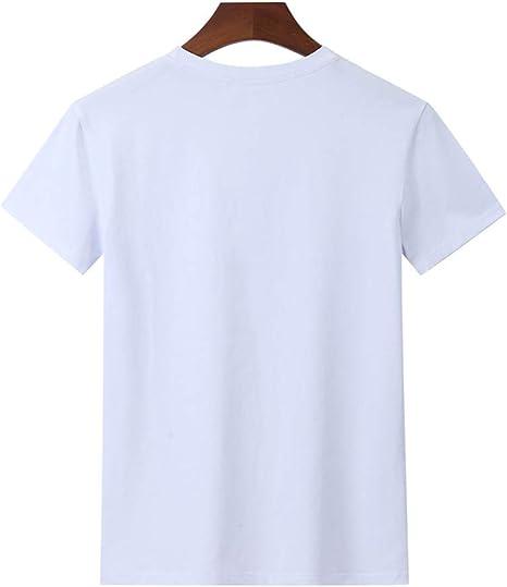 Camiseta Pareja, Manga Corta Hombre Impresión Moda Diario ...