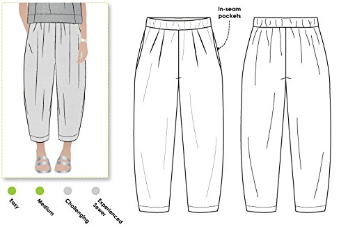 Style Arc Sewing Pattern - Ethel Designer Pant (Sizes 04-16) - Click for Other Sizes - Styles Designer