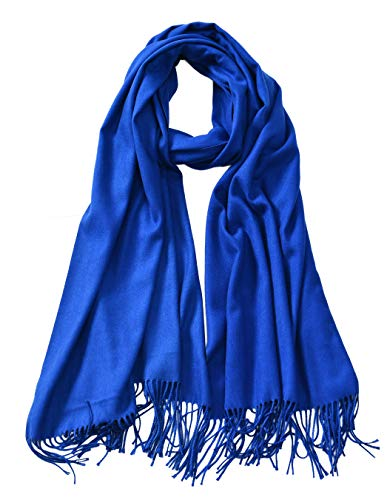 - Cindy & Wendy Large Soft Cashmere Silky Pashmina Solid Shawl Wrap Scarf for Women