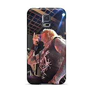 JasonPelletier Samsung Galaxy S5 Excellent Hard Phone Cover Support Personal Customs Colorful Coal Chamber Band Series [myX8359mWZr]