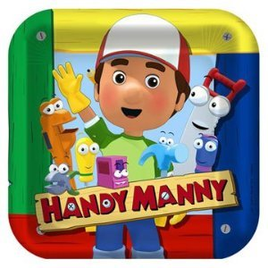 Handy Manny Lunch Plates 8ct -