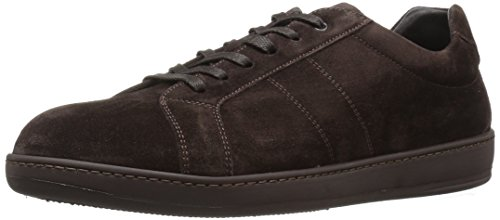 To Boot New York Mens Elson Fashion Sneaker Dark Brown Suede 0UPC7