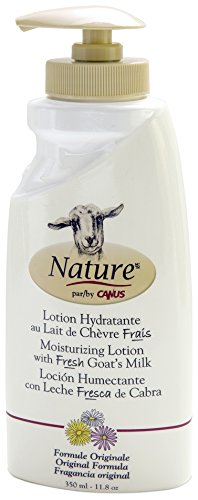 Nature by Canus, Fresh Goat's Milk Moisturizing Lotion, Original (Original Moisturizing Lotion)