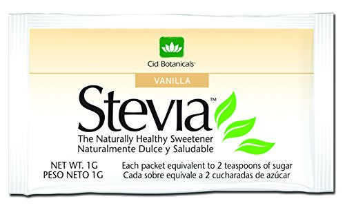 Price comparison product image Cid Botanicals Real Paraguayan Stevia - 1000 Count (Vanilla,  1000 packets)