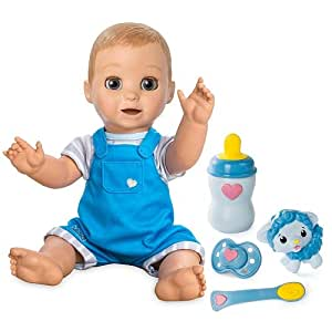 Luvabeau You&Me Interactive Blonde Baby Boy Doll