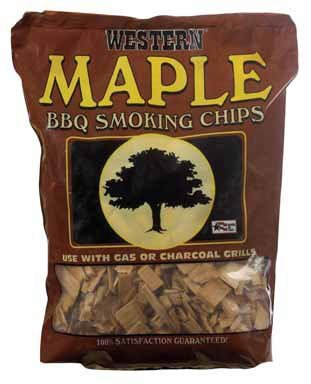 Western Maple Smoking Chips, 2-Pound Bags (Pack of 6)