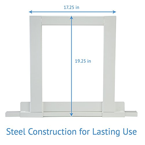 Ivation Window Air Conditioner Mounting Support Bracket – Easy To Install Universal AC Mount, No Tools Required – Heavy Duty Steel Construction Holds Up To 200 lbs – Fits Single Or Double Hung Windows by Ivation (Image #3)