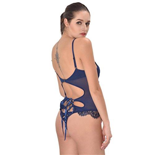 Acvip blu biancheria scuro di donna da Set 7wA7qrX