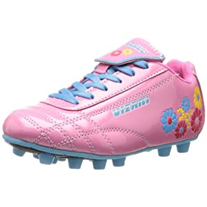 Vizari Blossom FG Soccer Shoe (Toddler/Little Kid),Pink/Blue,8 M US Toddler