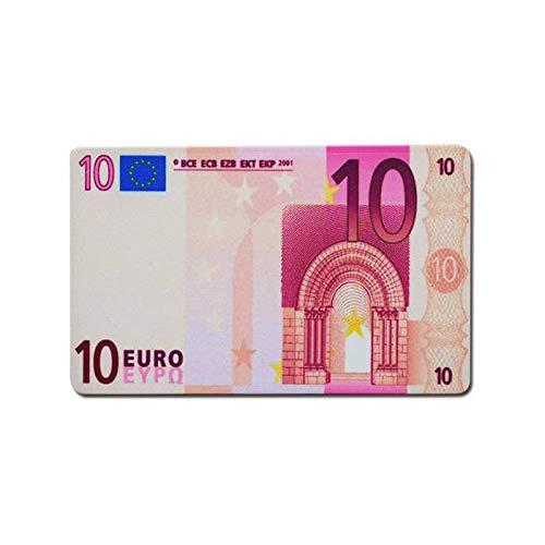 Plaque de Poker Euro - en céramique - 8,5x5,2 cm