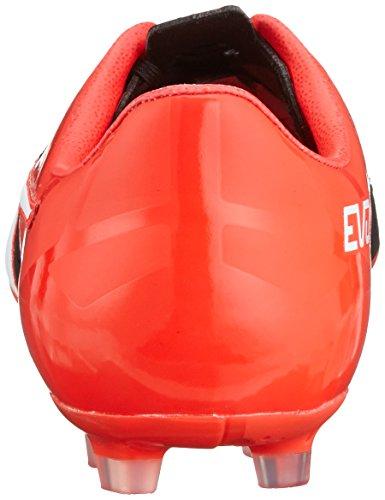 01 Schwarz Lth Puma 5 puma Evospeed Calcio Scarpe Nero Uomo Blast Black red AG da Puma 1 White qTBwgv