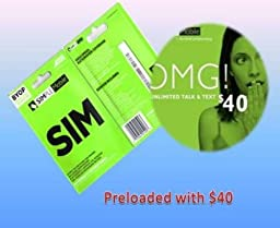 Simple Mobile SIM Card loaded with $40 plan Unlimited Talk • Text • 1GB Data , ready to activate