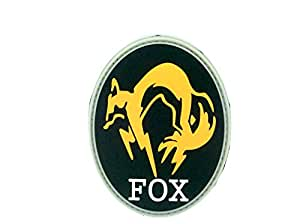 FOX Foxhound Metal Gear Solid PVC Airsoft Parche
