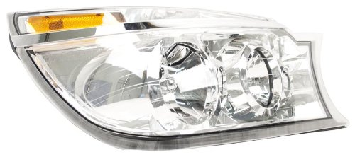 - OE Replacement Buick Rendezvous Passenger Side Headlight Assembly Composite (Partslink Number GM2503245)
