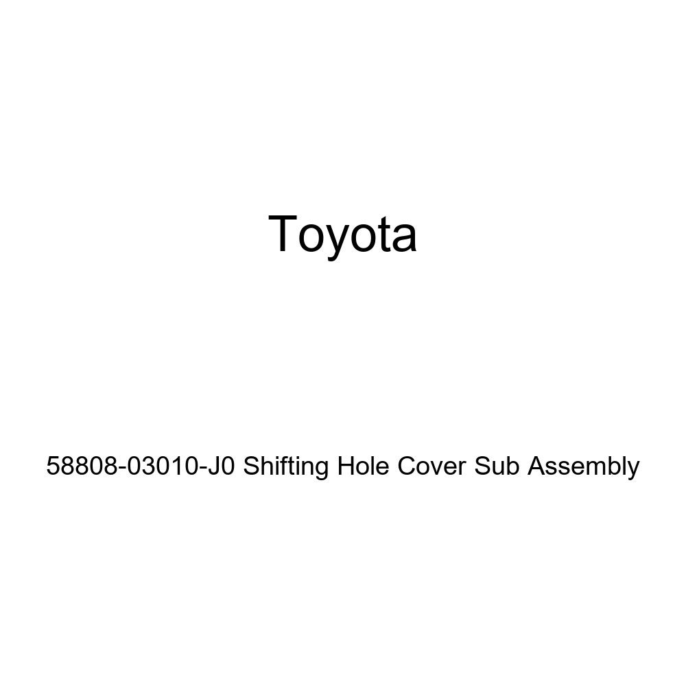Toyota Genuine 58808-03010-J0 Shifting Hole Cover Sub Assembly