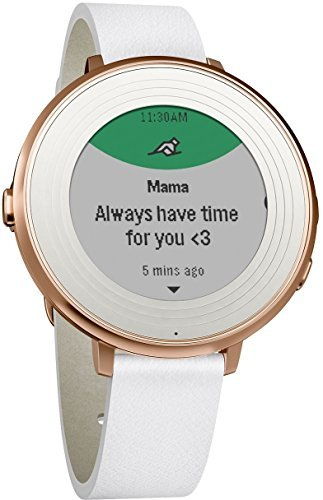 Pebble Time Round 14mm Smartwatch for Apple/Android Devices - Rose Gold by Pebble Technology Corp (Image #1)