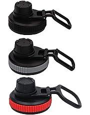 tellaLuna Wymienna pokrywka do szerokiego ustnika Flip Top To-Go dla prostych i większości marek butelek na wodę