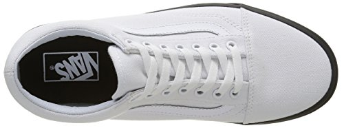 Vans Mlx Zapatillas Unisex Blanco Old Adulto Skool F1wrqFA