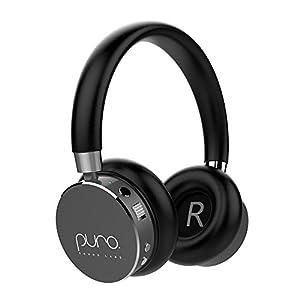 Puro Sound Labs BT2200 Volume Limited Kids' Bluetooth Headphones – Safer Headphones for Kids – Studio-Grade Audio Quality & Noise Isolation – Gray