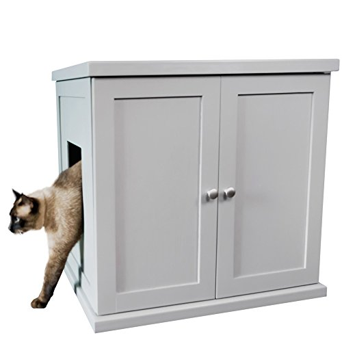 The Refined Feline Refined Litter Box in Smoke