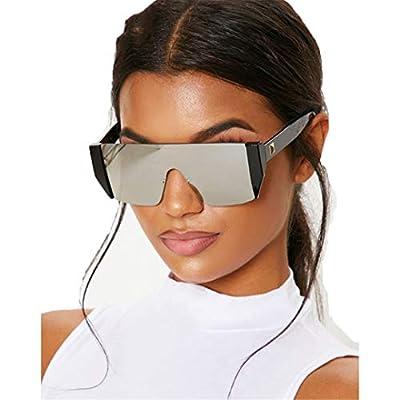 Sunglasses Men Designer Oversized Square Rimless Sun Glasses Black Shades Women OM504
